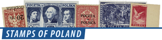 Stamps of Poland