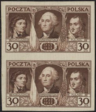 Scott: Poland 267 Imp Proof  VF (*) Walocha Certificate - Polish Stamp