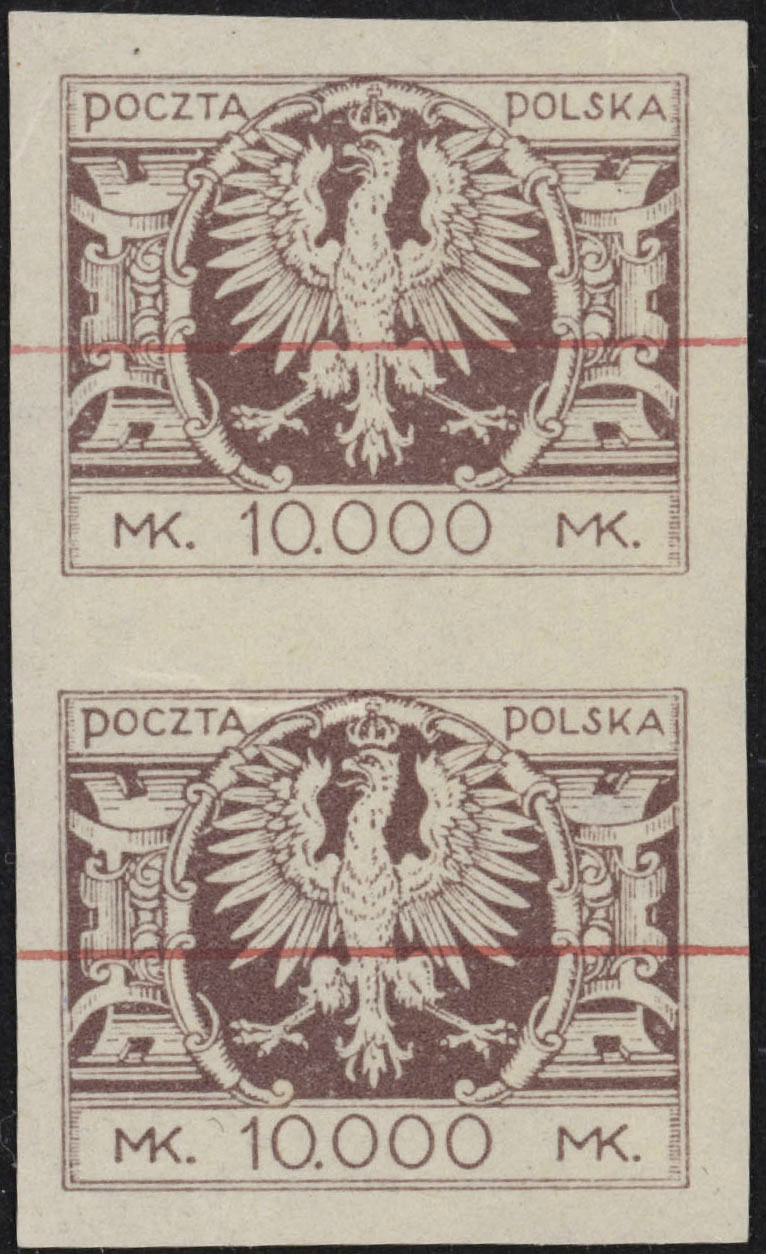 Scott: Poland 205 Printers Proofs VF  Walocha Certificate - Polish Stamp